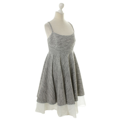 Philosophy di Alberta Ferretti Heather grey summer dress