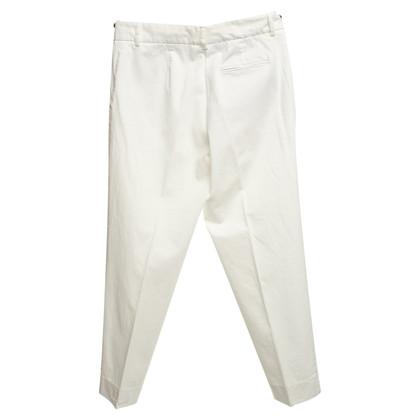 Iris von Arnim Capri broeken in het wit