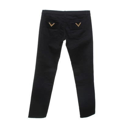 Red Valentino Jeans en noir / or