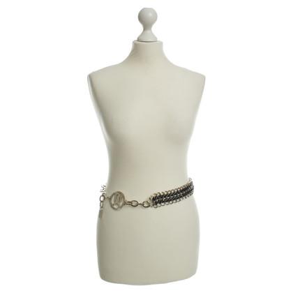 Versace Chain belt Silberfarbend