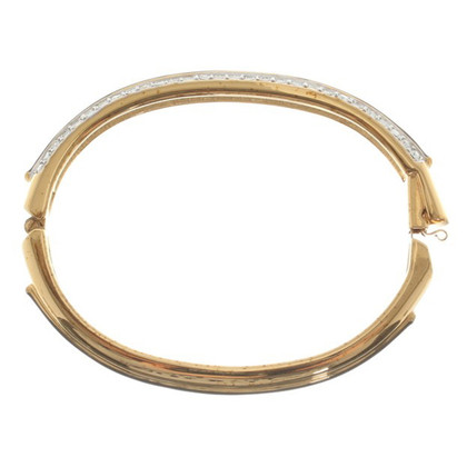 Swarovski Gold-colored bangle