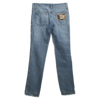 Dolce & Gabbana Jeans in a distroyed look