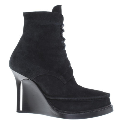 Ann Demeulemeester Suede wedges