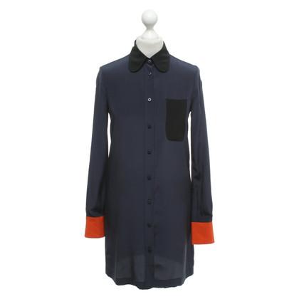 See by Chloé blue silk dress