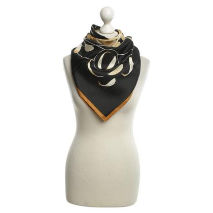 Hermès Seidentuch mit Muster