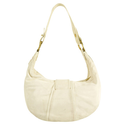 Roberto Cavalli White Hobo Bag