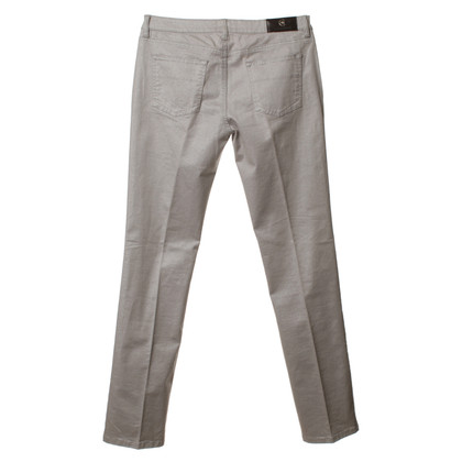 Cerruti 1881 Jeans in metallic zilver