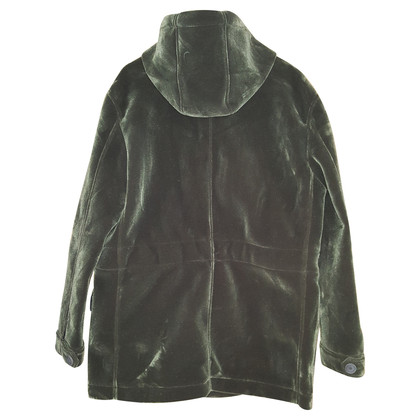 IQ Berlin Green Velvet jacket