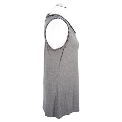 All Saints top in grey