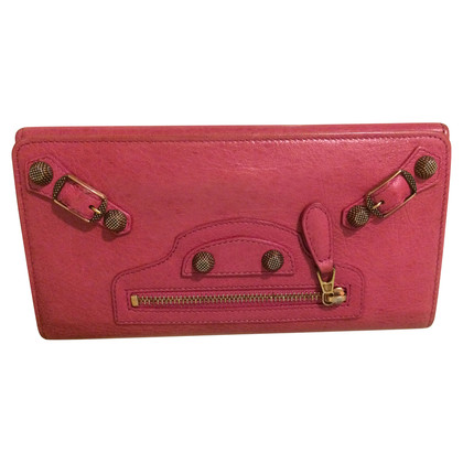 Balenciaga Wallet in pink