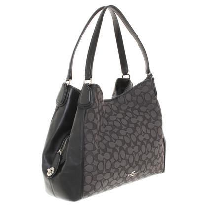 Coach Handbag with monogram pattern