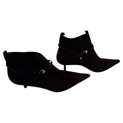 Kurt Geiger Stivali neri di camoscio
