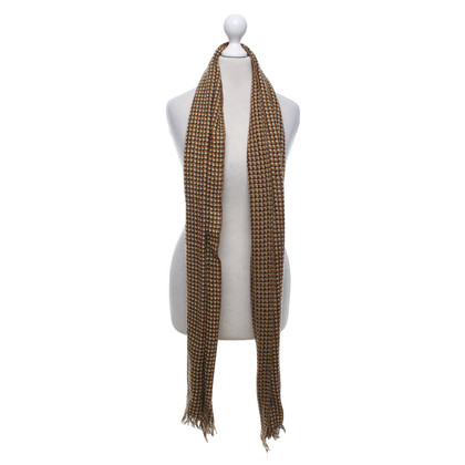 Isabel Marant Etoile Scarf with knit pattern