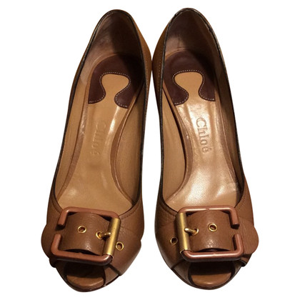 Chloé Peep-toes in brown