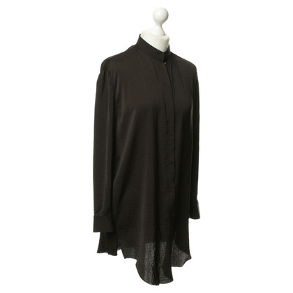 Acne Blusa in seta nero