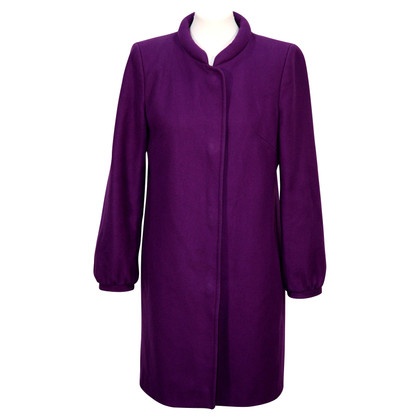 French Connection Wool coat in purple