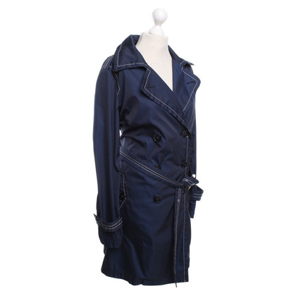 Fay Trenchcoat in navy blue