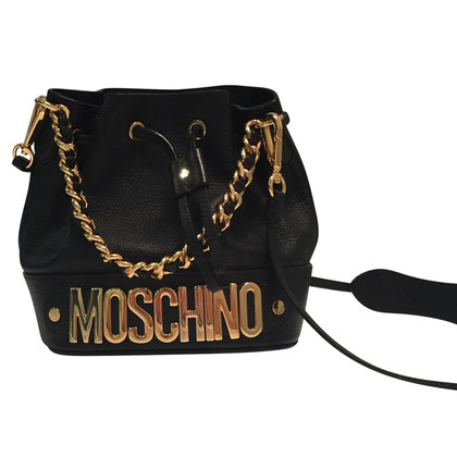 Moschino Beuteltasche in Schwarz