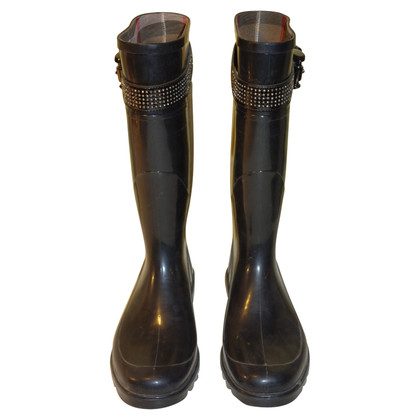 Burberry Rubber boots in black