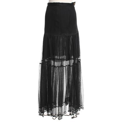 Chanel Tulle skirt in black