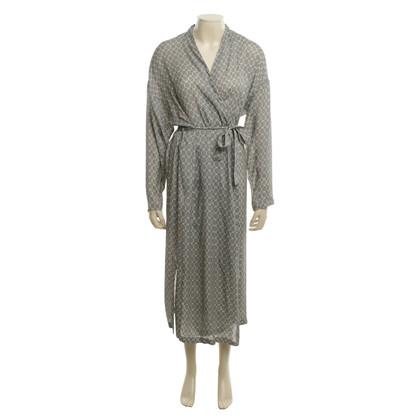 Set Kimono mit Muster