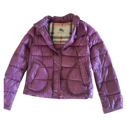 Burberry Quilted jacket in fuchsia