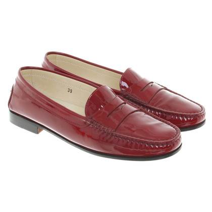 Tod's Loafer aus Lackleder