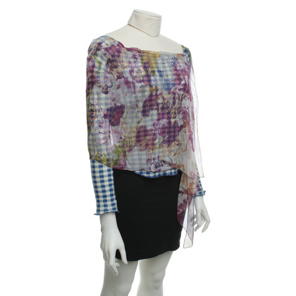 Jean Paul Gaultier Blouse in a layered look
