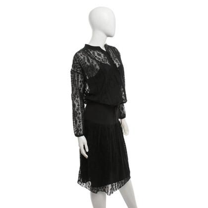 Hoss Intropia Kleid in Schwarz