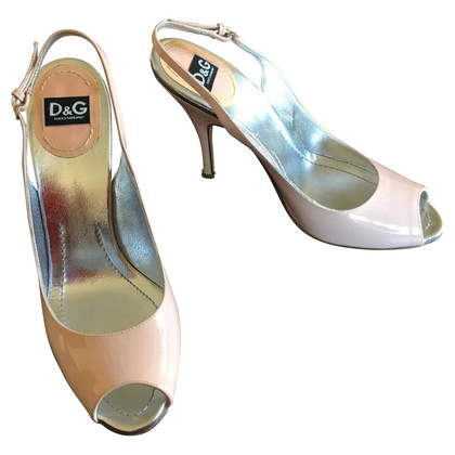 D&G Laksleren sandalen