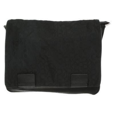 Calvin Klein Shoulder Bag With Logo Pattern