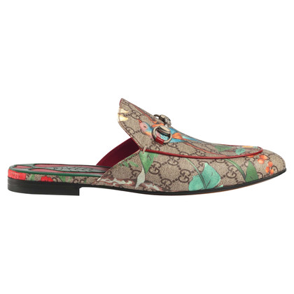 Gucci Tian Princetown slippers