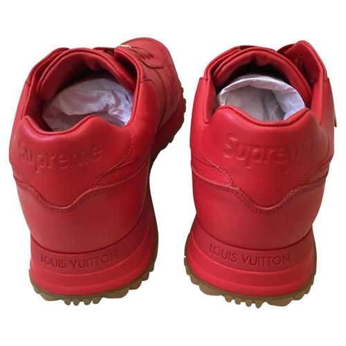 Louis Vuitton Louis Vuitton X Supreme Sneakers Second Hand Louis