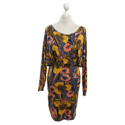 French Connection Flowered dress in color