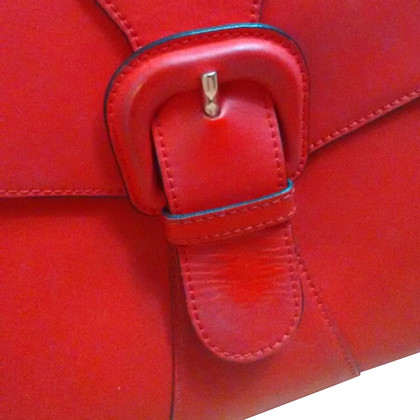 Marni Folder red rubber skin effect