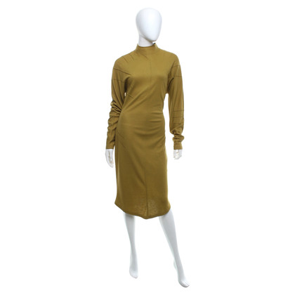 Mugler Knit dress in green