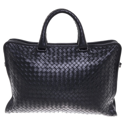 Bottega Veneta Laptoptas in zwart