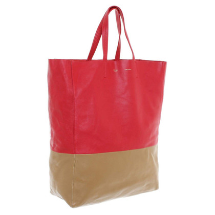 Céline Shopper red