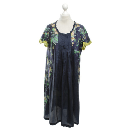 Other Designer Johnny Was - silk dress with floral print