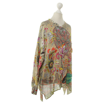 Etro Silk blouse with print