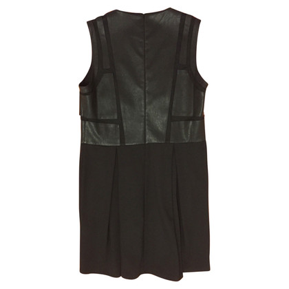 Max & Co Dress with faux leather inserts on both sides