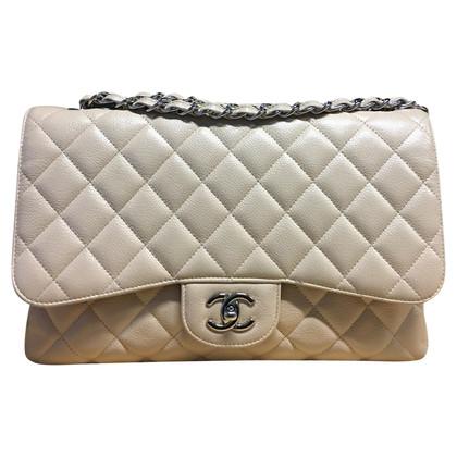 "Chanel Pelle ""Jumbo Flap Bag"" Caviale"