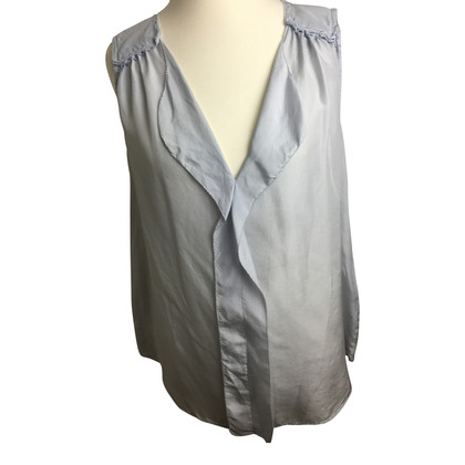 Closed Silk blouse with flounces