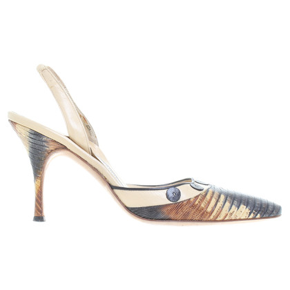 Manolo Blahnik Pumps reptile leather