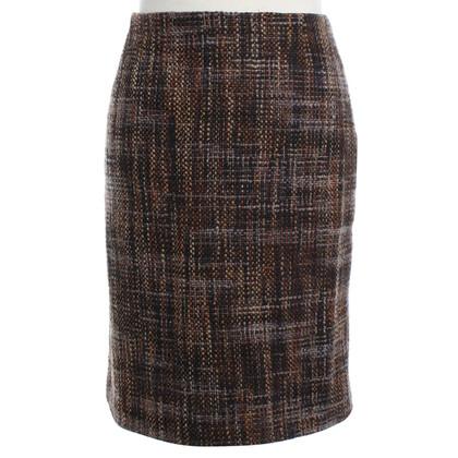 Prada Tweed-skirt in pencil