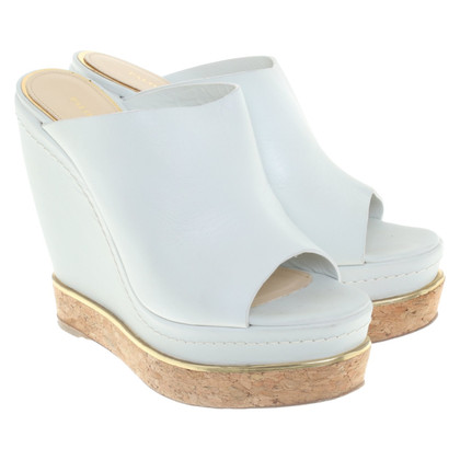Paloma Barcelo Wedges in light blue
