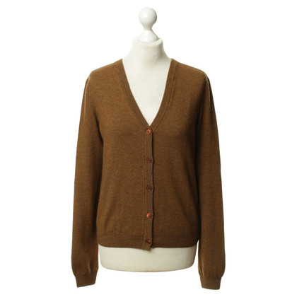 Jil Sander Strickjacke in Braun
