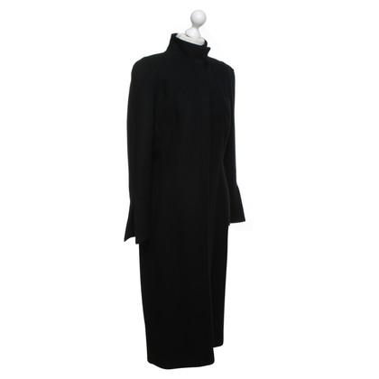 Mugler Coat in midi-length