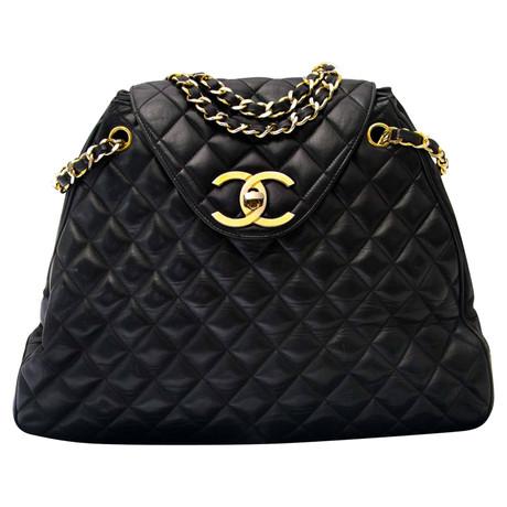 Neueste Zum Verkauf Billig Verkauf Footlocker Chanel Schultertasche Schwarz Visa-Zahlung Günstig Online Angebote Günstig Online UNKzJrfP