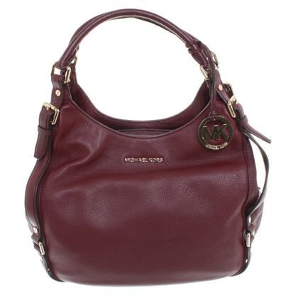 Michael Kors Borsa a tracolla in Bordeaux
